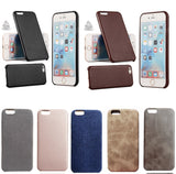 Coque Luxe effet cuir pour iPhone X/XS/8/7/6S/6 (Plus)