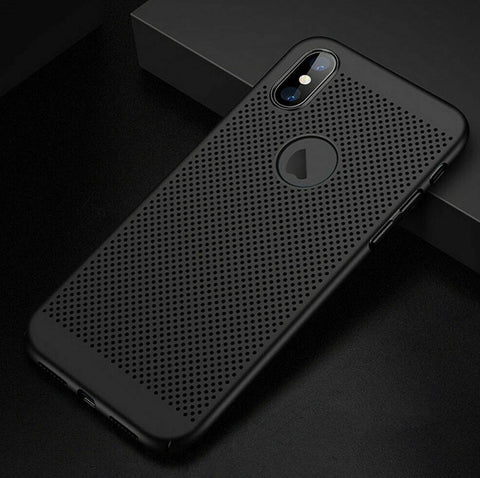 Coque MESH Ultra fine pour iPhone XS/Max/XR/X/8(Plus)/7