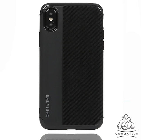 Coque Armor Carbon Gorilla Tech pour iPhone XS/X/SE 2020/8/7(Plus)/6S/6