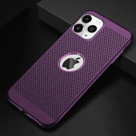 Coque MESH Ultra fine pour iPhone 12/mini/Pro/Max