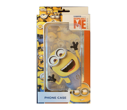 Coque Minions Ultra fine transparente pour iPhone 11/Pro/Max