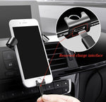 Support voiture Gravity 360° pour smartphone