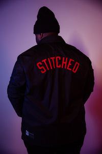 """Stitched"" Coaches Jacket"