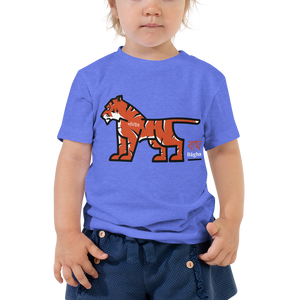 SOS Tiger Toddler Short Sleeve Tee