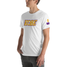 Load image into Gallery viewer, Legend KB824 Short-Sleeve Unisex T-Shirt (Lakers)