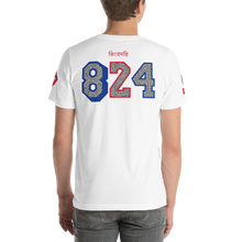 Load image into Gallery viewer, Legend KB824 Short-Sleeve Unisex T-Shirt (True Blue)