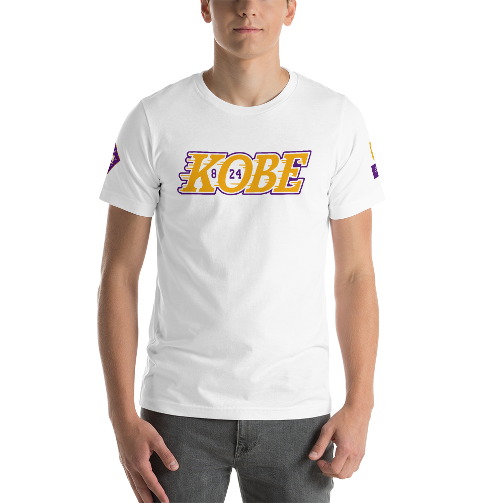 Legend KB824 Short-Sleeve Unisex T-Shirt (Lakers)
