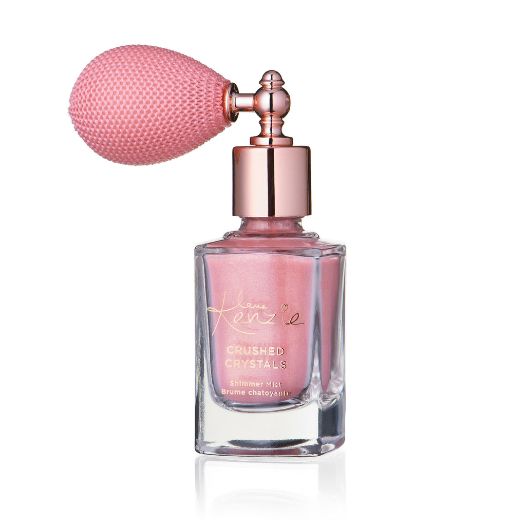 CRUSHED CRYSTALS SHIMMER MIST - Ultralight Rose Gold: 10mL