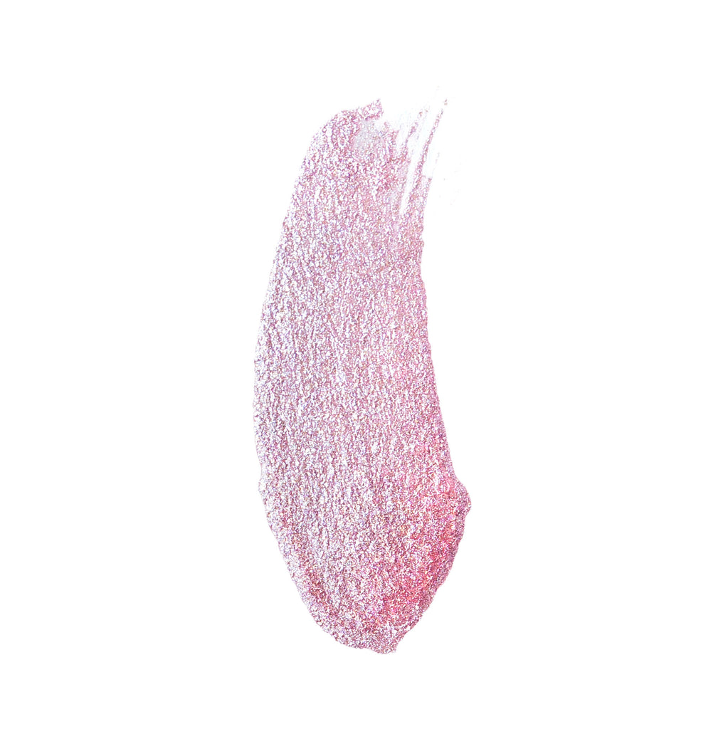 Slide on Glitter Liquid Eyeshadow-Pixie Pink