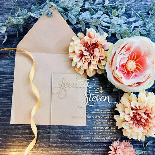 Acrylic Invitation