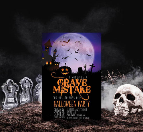 Grave Mistake Full Moon - Halloween