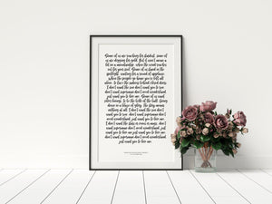 wedding anniversary vow prints