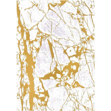 A4 Paper Crystalline Gold Embossed 5pk