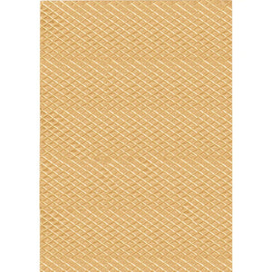 cristina re A4 Paper Diamond Gold Embossed 5pk