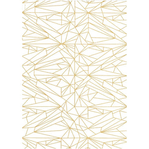 cristina re A4 Paper Quartz Gold Foiled 5pk
