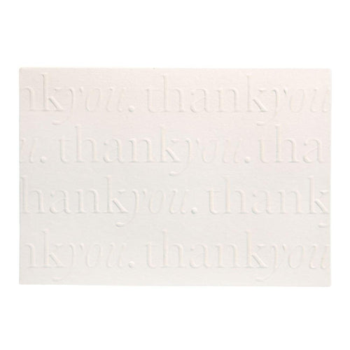A6 Thank You Cards and Envelopes Pearl PK10 - Designer Cards