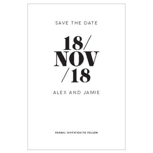 Alex - Save the Date - Save the Date Card