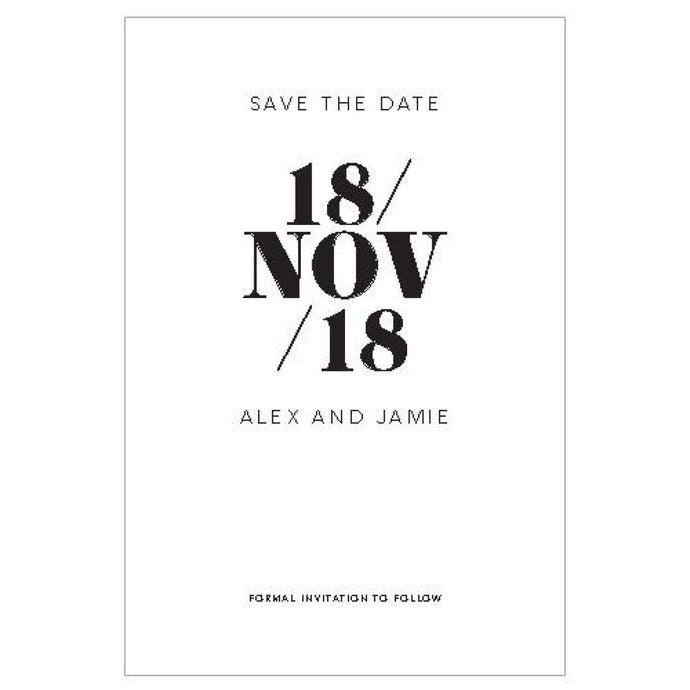 Alex - Save the Date