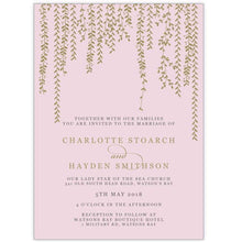 Charlottes Vines - Wedding Invitation