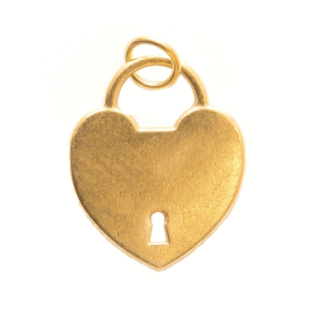 Charm - Gold Heart Locket 5pk