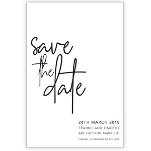 Frankie - Save the Date Card