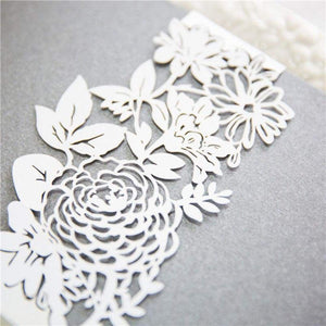 Laser cut - Belly Band - 'Floral Lace'