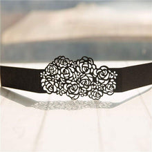 Laser cut - Belly Band Glitter - 'Roses'