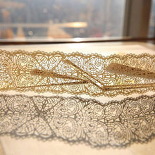 Laser cut - Belly Band - 'Scallop Deco Lace'