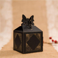Laser cut - Favor Box - 'Floral'