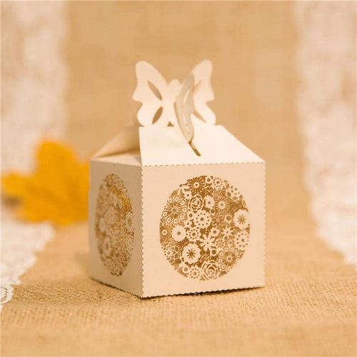 Laser cut - Favor Box - Rustic Lace - Wedding Accessories