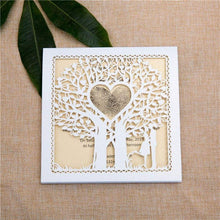'Love Tree' - Laser cut Sleeve Fold