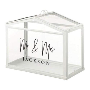 """Mr & Mrs Name 2"" - Decal"