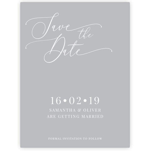 Oliver - Save the Date Card