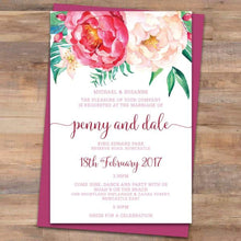Passion 1 Wedding Invitation