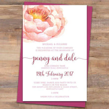 Passion 3 Wedding Invitation - Wedding Invitation