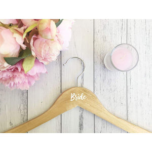 Personalised Coat Hanger with Diamante