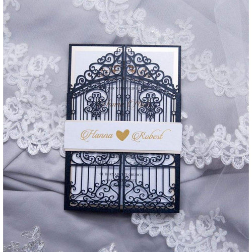 'Retro Iron Gates' - Laser cut Gate Fold