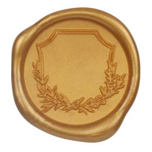 traditional gold wax seal