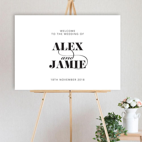 Alex - Welcome Sign