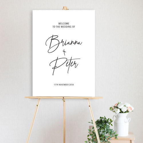 Brianna - Welcome Sign