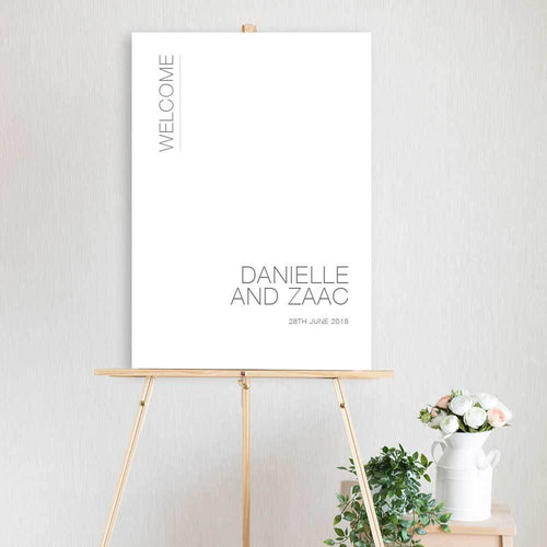 Danielle - Welcome Sign