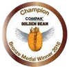 Wantima Bronze award Golden Bean