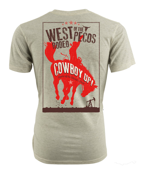 Cowboy Up Poster Tee