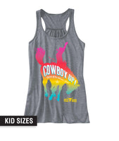 Girls Rainbow Tank