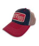 Navy/Scarlet Old Favorite Trucker Cap
