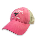 Ladies Pink Pecos Rodeo Cap