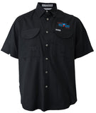 Men's Embroidered Fishing Shirt