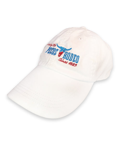 White Pecos Rodeo Cap