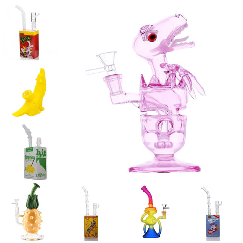 Glass Art Store Glass Bongs and Dab Rigs Collection