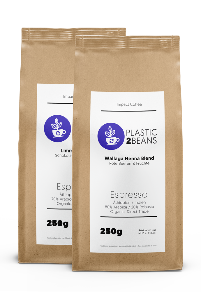Probierpaket Espresso Blends (Limmu Blend & Wallaga Blend)